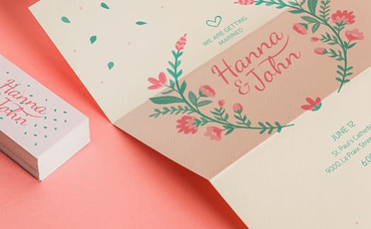 החידושים בעיצוב הזמנות לחתונה לקראת שנת 2019