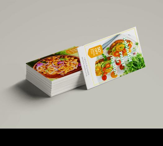 כרטיסי ביקור מסעדנות