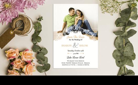 איך לבחור הזמנה לחתונה שתשקף את מקום האירוע?