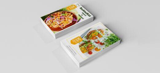 כרטיסי ביקור – מזון ומשקאות 13