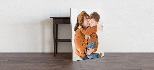 קנבס ילד ואמא