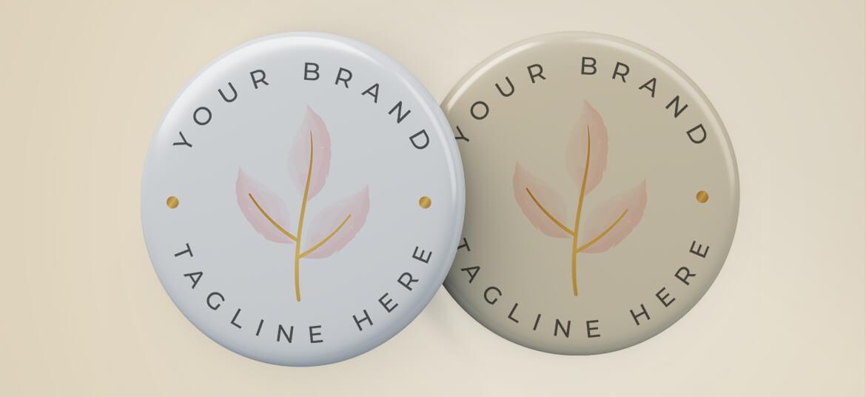 מדבקה בולטת Your Brand