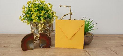 מעטפה צבעונית old gold