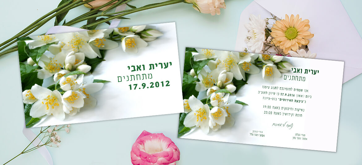 הזמנה פרחי כרכום לבנים