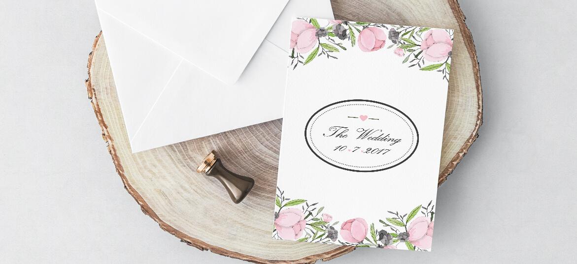 הזמנות חתונה – פרחוניות 9