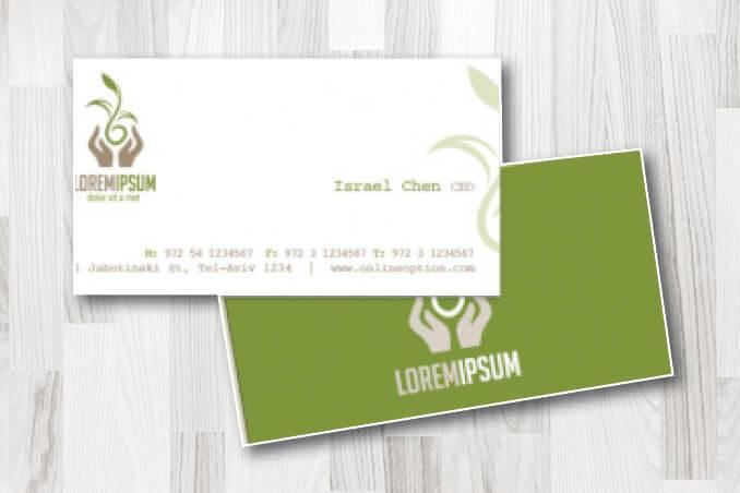 כרטיס ביקור באנגלית 3