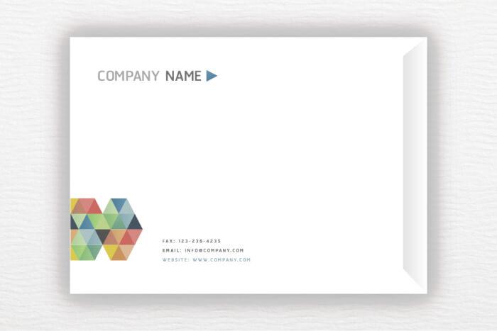 מעטפות A5 בעיצוב אישי לדוגמא