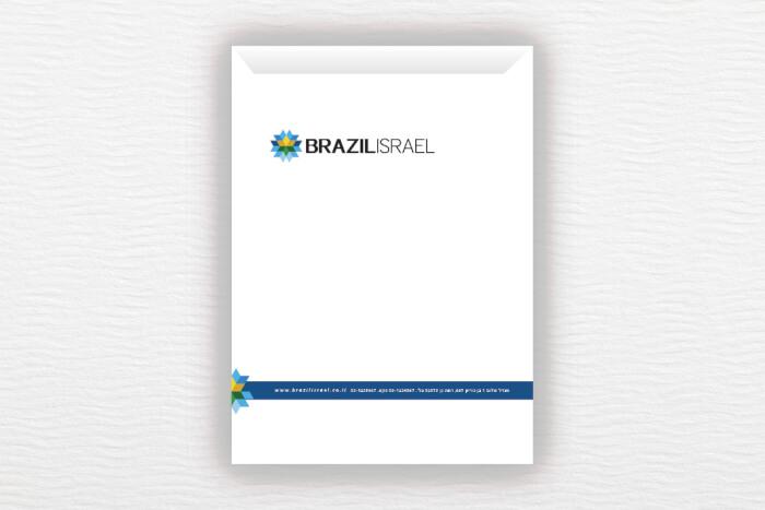 מעטפות BrazilIsrael A4