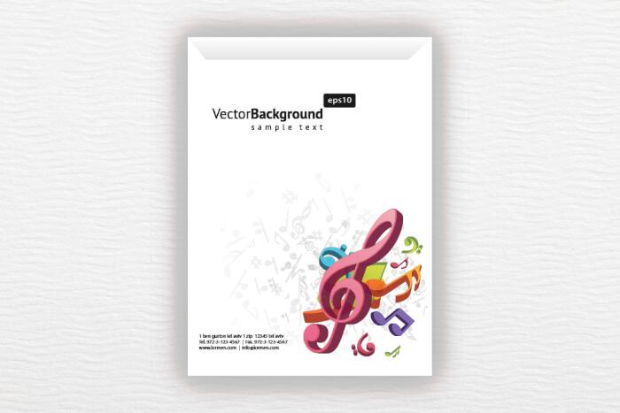 מעטפות A4 בעיצוב מיוחד