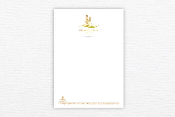 נייר מכתבים שני צבעים 3