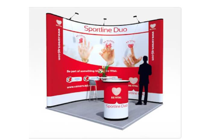 פופ אפ Sportline Duo